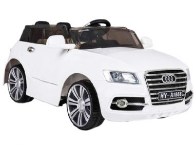 Audi Q7 SUV Toy Jeep White | Kids Sit & Ride-In Car 12v Battery Powered | TOYSHOPUK
